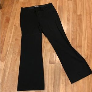 Banana Republic Jackson Stretch Black Dress Pant 8
